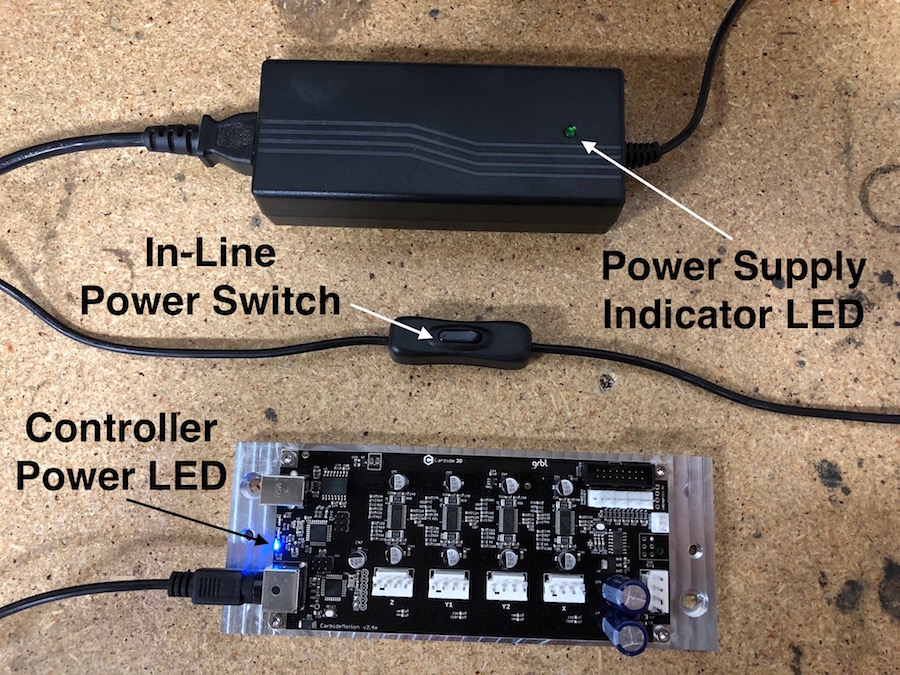 Annotated Power Supply